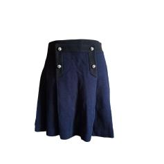 Jupe courte CLAUDIE PIERLOT Bleu, bleu marine, bleu turquoise