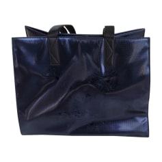 Leather Oversize Bag KENZO Blue, navy, turquoise