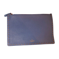 Clutch VALENTINO Blue, navy, turquoise