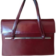 Leather Handbag KENZO Red, burgundy