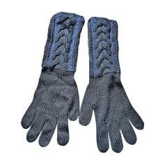 Gloves BALMAIN Black