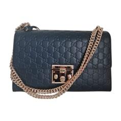Leather Shoulder Bag GUCCI Dionysus Blue, navy, turquoise