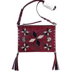 Leather Shoulder Bag ISABEL MARANT Red, burgundy