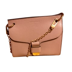 Leather Shoulder Bag COCCINELLE Taupe