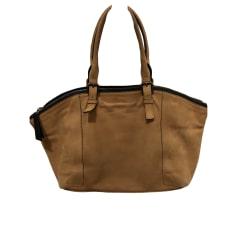 Leather Handbag GERARD DAREL Beige, camel
