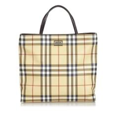 Leather Shoulder Bag BURBERRY Brown