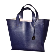 Leather Handbag FURLA Blue, navy, turquoise