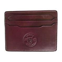 Card Case LOEWE Red, burgundy