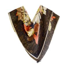 Silk Scarf LEONARD Brown