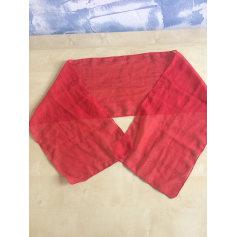 Echarpes   Foulards Femme Polyester Rouge, bordeaux de marque   luxe ... 0d60764d2fc