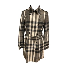 Imperméables, trenchs Burberry Femme   articles luxe - Videdressing c1b02dc04a9