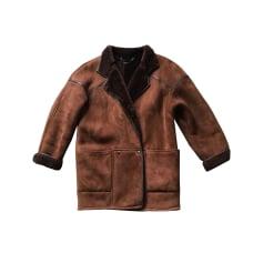 5fa907365eed Manteaux en cuir Femme de marque   luxe pas cher - Videdressing
