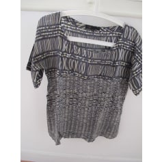 Blouse MAJE Gris, anthracite