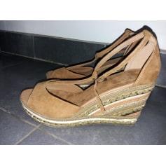 1d2468287412 Sandales compensées Bata Femme   articles tendance - Videdressing