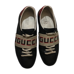 edb9adc9d5a Baskets Gucci Homme   articles luxe - Videdressing