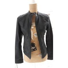 Veste en cuir femme bonobo
