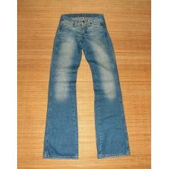 Jeans évasé, boot-cut Wrangler  pas cher