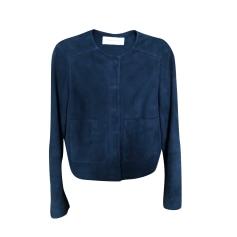 406f75d304f2 Manteaux   Vestes Femme Daim Bleu, bleu marine, bleu turquoise de ...
