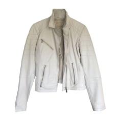 91ea6e37d9f Manteaux   Vestes Femme Cuir Blanc