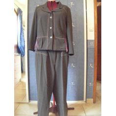 Tailleur pantalon CHRISTINE LAURE Gris, anthracite