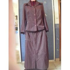 Tailleur jupe CHRISTINE LAURE Violet, mauve, lavande