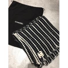 ad33d452287 Echarpes   Foulards Chanel Femme Noir   articles luxe - Videdressing