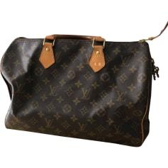 fda6c8b3ae7 Sacs Speedy Louis Vuitton Femme Marron occasion   articles luxe ...