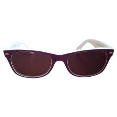 Monture de lunettes RAY-BAN Violet, mauve, lavande