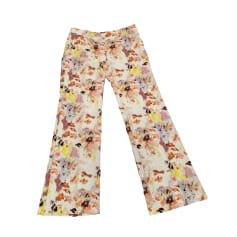 Pantalone svasato MOSCHINO CHEAP AND CHIC Multicolore
