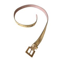 Cintura bassa DOLCE & GABBANA Dorato, bronzo, rame