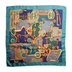 Foulard GUCCI Blu, blu navy, turchese