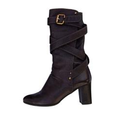 Bottes Femme de marque   luxe pas cher - Videdressing 914d1d1043e