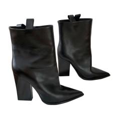 Bottines & low boots à talons CÉLINE Noir