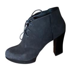 Bottines & low boots à talons TOD'S Gris, anthracite