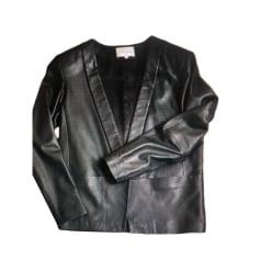 148d32d8c997 Vestes en cuir Sandro Femme   articles tendance - Videdressing