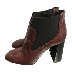Bottines & low boots à talons TOD'S Marron