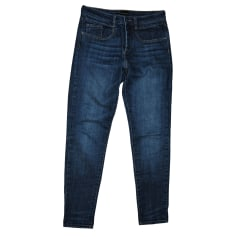Jeans droit BERENICE Bleu, bleu marine, bleu turquoise