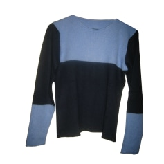Pull LUCIEN PELLAT FINET Bleu, bleu marine, bleu turquoise