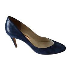Escarpins RUPERT SANDERSON Bleu, bleu marine, bleu turquoise