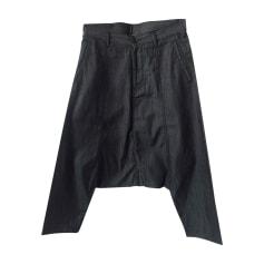 Pantalone sarouel COMME DES GARCONS Blu, blu navy, turchese