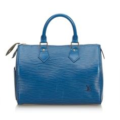 Leather Handbag LOUIS VUITTON Blue