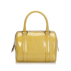 Leather Handbag DIOR Brown