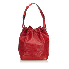 Backpack LOUIS VUITTON Red