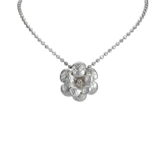 Necklace CHANEL Silver