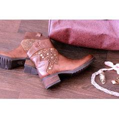 Bottines & low boots à talons MAM'ZELLE Marron