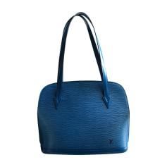 Sac en bandoulière en cuir LOUIS VUITTON Bleu, bleu marine, bleu turquoise