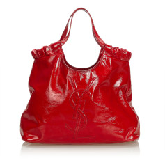 Borsa a tracolla in pelle YVES SAINT LAURENT Red