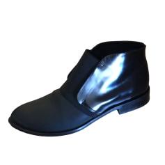 Bottines & low boots plates COP-COPINE Noir