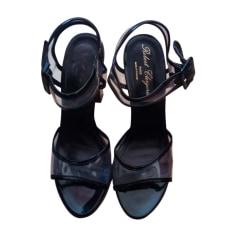 Sandales à talons ROBERT CLERGERIE Noir