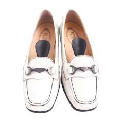 Loafers TOD'S White, off-white, ecru